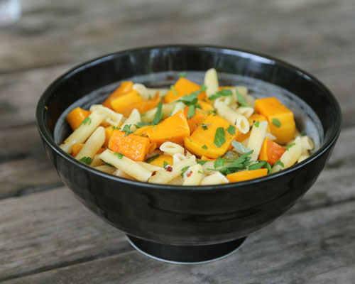Penne with Roasted Butternut Squash Recipe