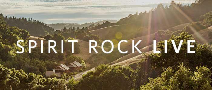 Spirit Rock Live Banner