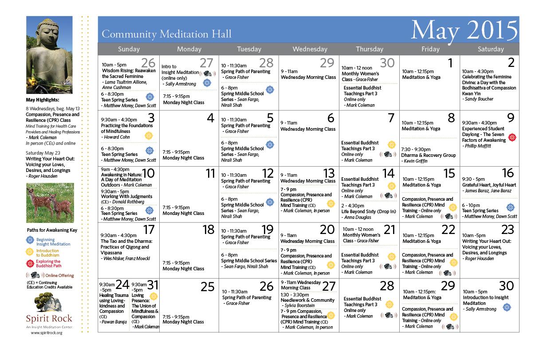 Calendar 2015 May