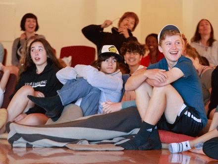 Spring Middle School Meditation Series
