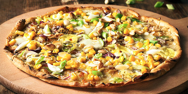 Cornmeal Crust Pizza - The Spirit Rock Kitchen